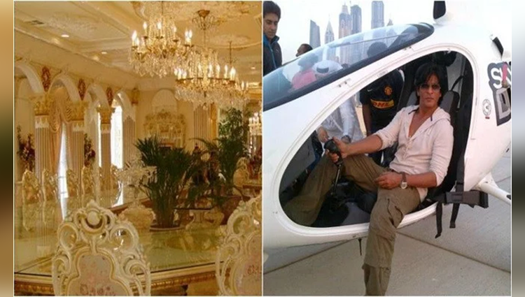 shahrukh khan the golden house in dubai