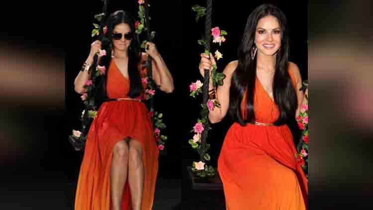 Sunny leone latest photoshoot for goggle brand