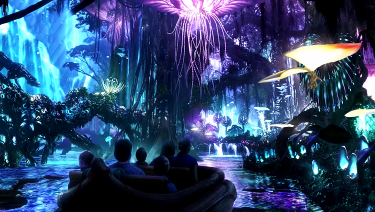 disney park made a park based on avatar movie theme