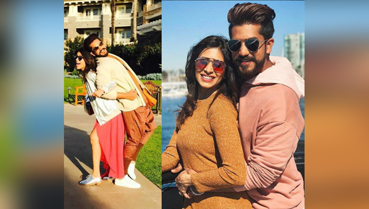 kishwar suyash enjoying honeymoon in california