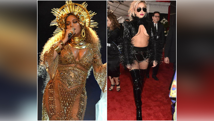 most embarrassed red carpet outfits During Grammy Awards 2017