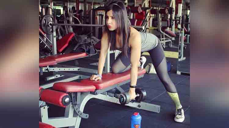 Fitness model ankita singh