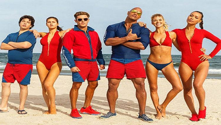 Baywatch Trailer 3 launch