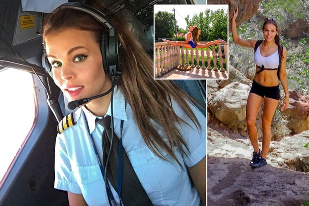 malin rydqvist female hot pilot