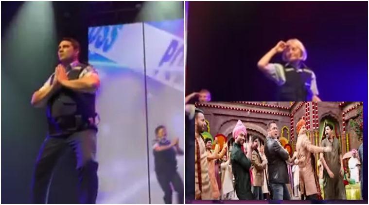 new zealand police dance on salman khan song baby ko bass pasand hai