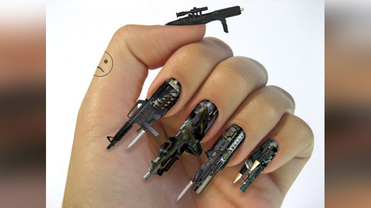 Caution: These Crankiest Nail Arts Would Make you Hate Getting your ...