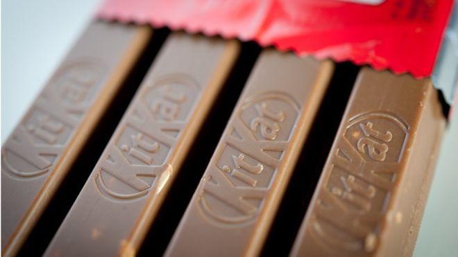 Kitkat many Flavours