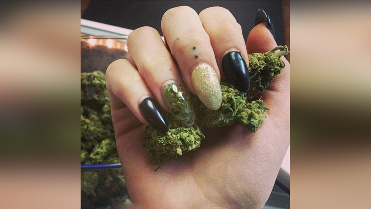 Weed Manicures Are Taking Nail Trends To A New High