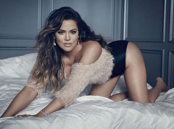 Khloe Kardashian built by Hot photoshoot for GQ Germany Magazine