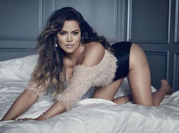 Khloe Kardashian built by Hot photoshoot for GQ Germany Magazine