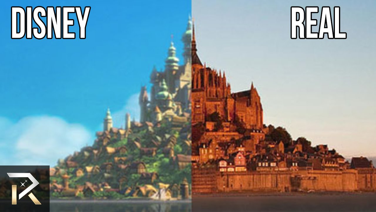 disney movie locations that exist in real life