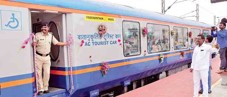 India Has His Own Specially Designed Beautiful Looking Train