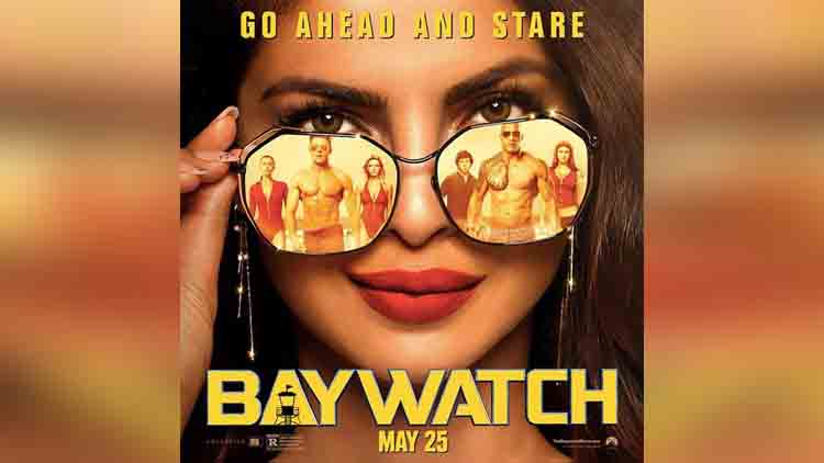 priyanka chopra baywatch new poster