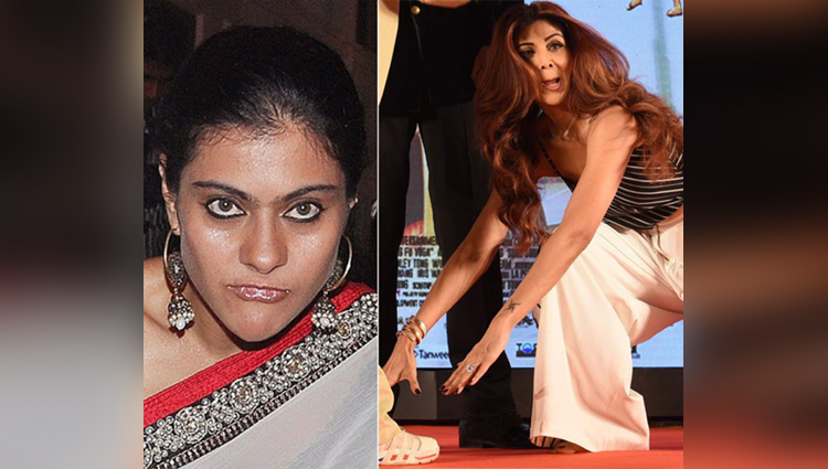 bollywood actress funny expressions pictures viral