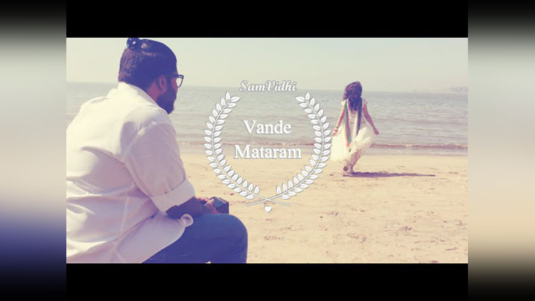 new version of vande mataram song by sam vidhi