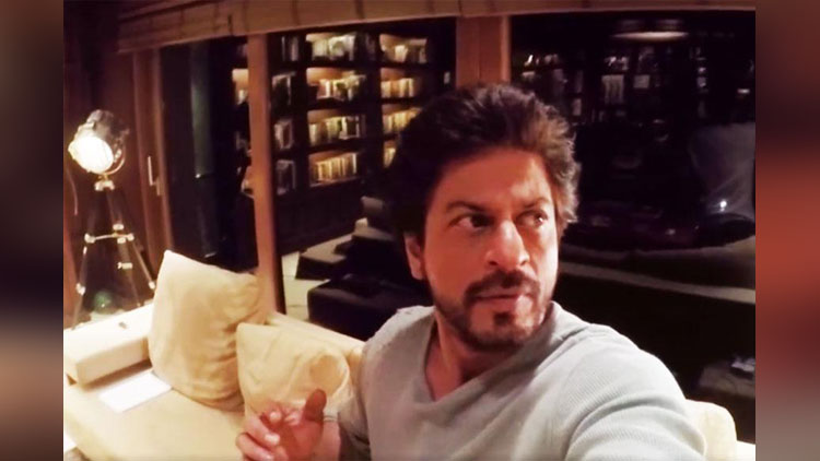 ghost in shahrukh khan home