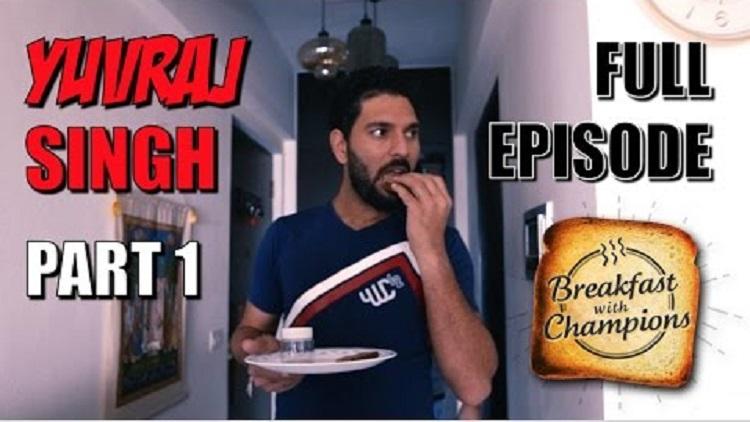 yuvraj singh part 1 breakfast with champions