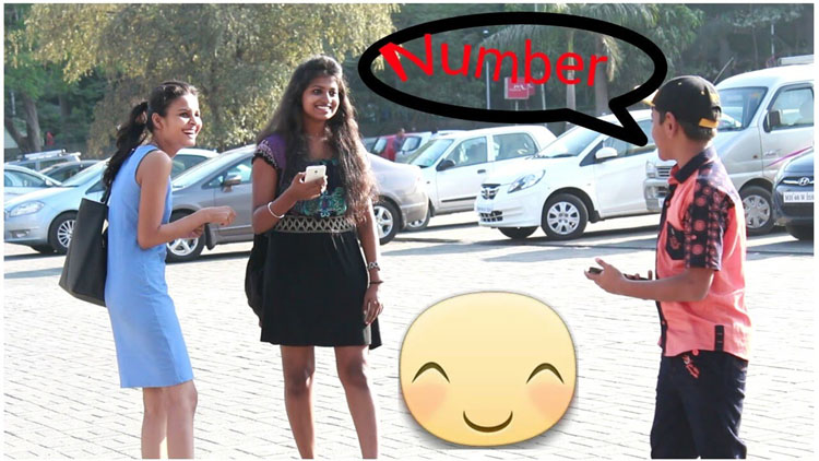 11 Years Old Kid Asking For Girls Number Smartly Prank In INDIA