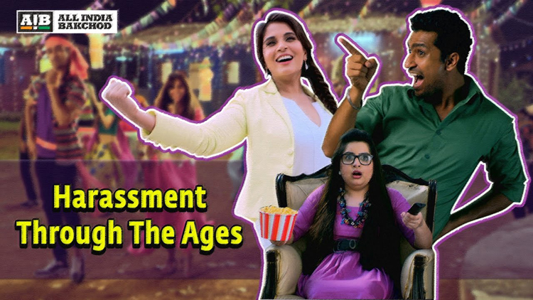 Harassment Through The Ages feat Richa Chadha Vicky Kaushal