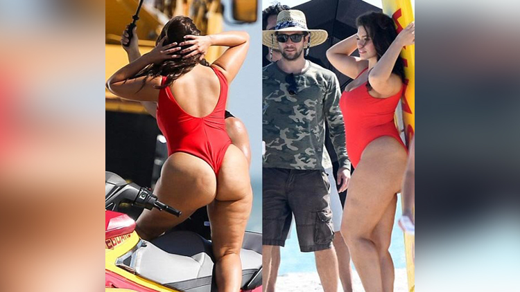 Ashley Graham Beach Side Photoshoot pictures viral