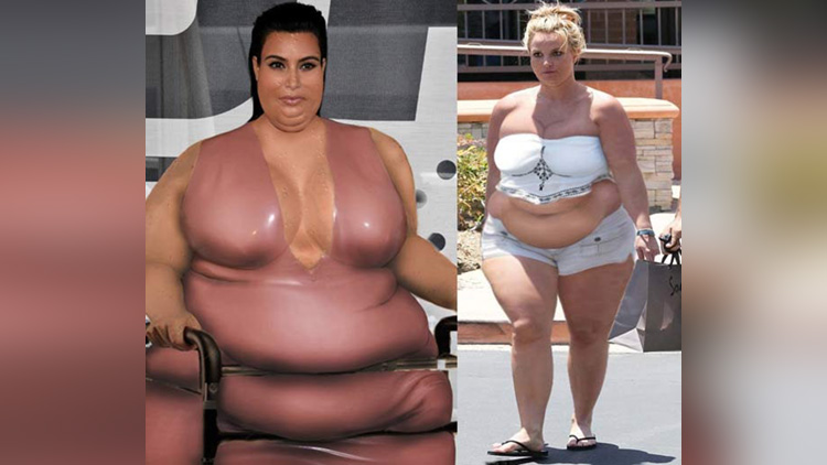 Celebrities Funny Photoshopped Fat Photos