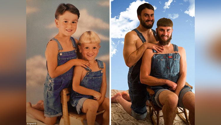 These Recreated Pictures of Childhood Make You Do Like The Same