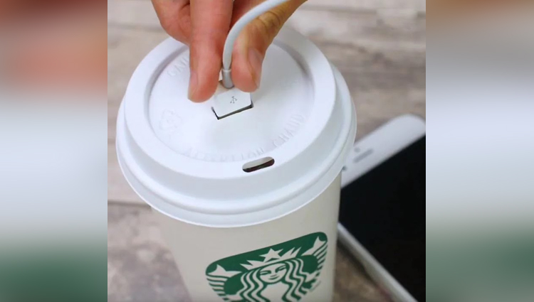 Starbucks cup diy