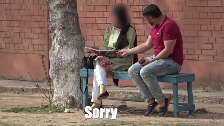 Gold Digger Prank in Pakistan prank video