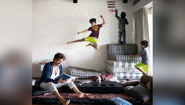 hrithik roshan apartment inside photos