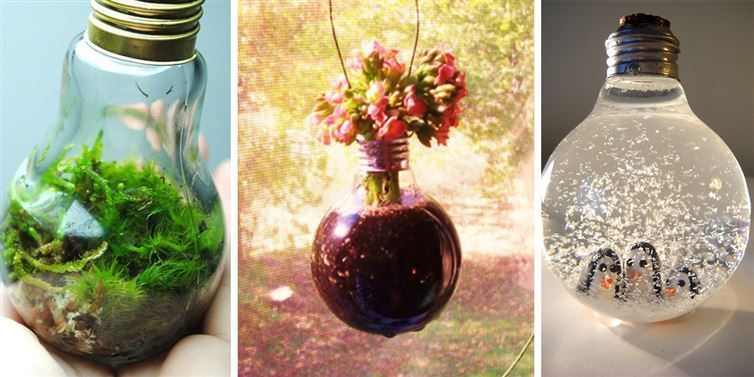 decorate your home by the use of bulb