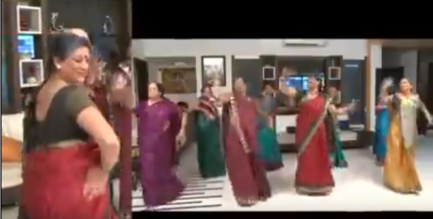 old woman dance on bollywood songs