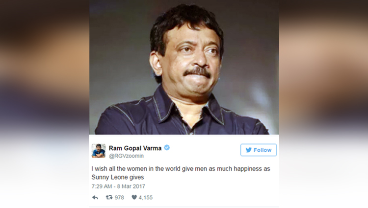 Wtf! Your Blood May Boil After Listening To The Nasty Comment Passed By Ram Gopal Verma On Women