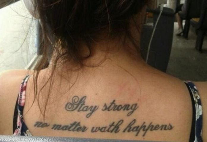 misspelled tattoo make you laugh