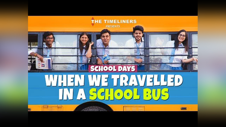 School Days When We Travelled In A School Bus The Timeliners