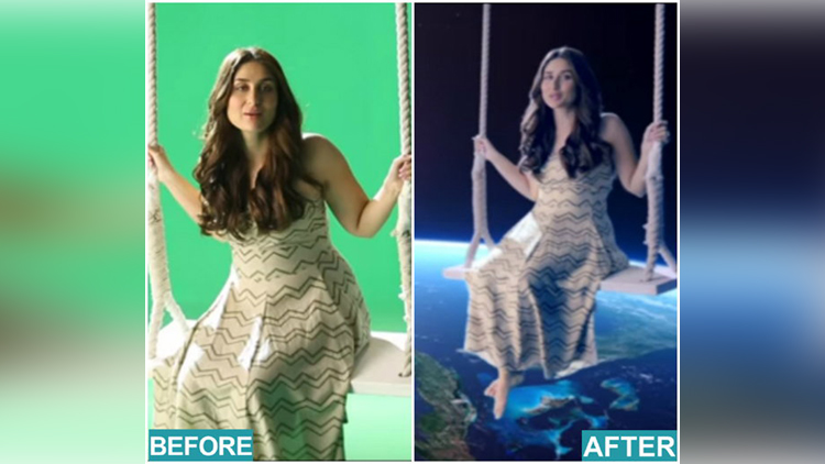 Kareena Kapoor BBC Earth behind the scene