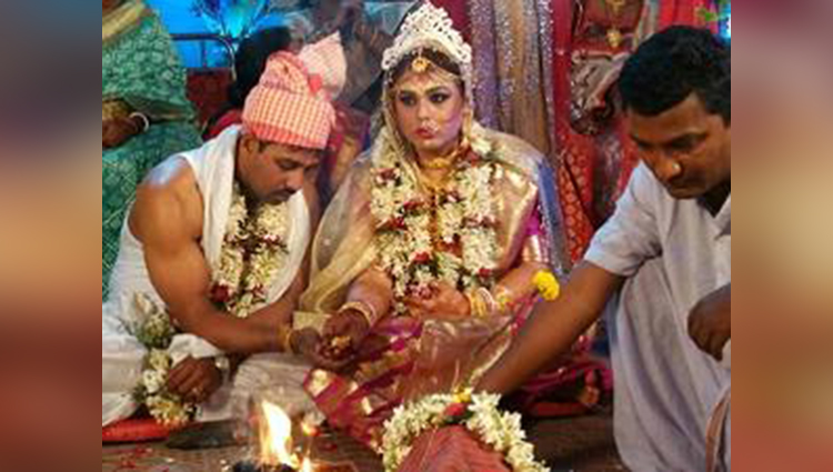 first transgender marriage in WB