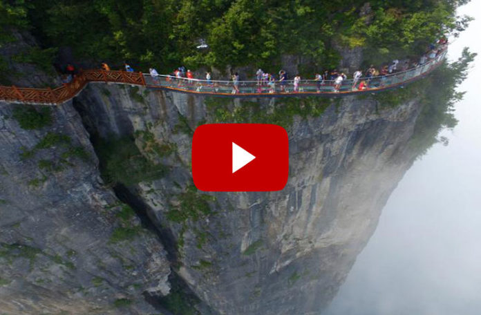 At 1500 meters high, the bridge is not just a matter of common man