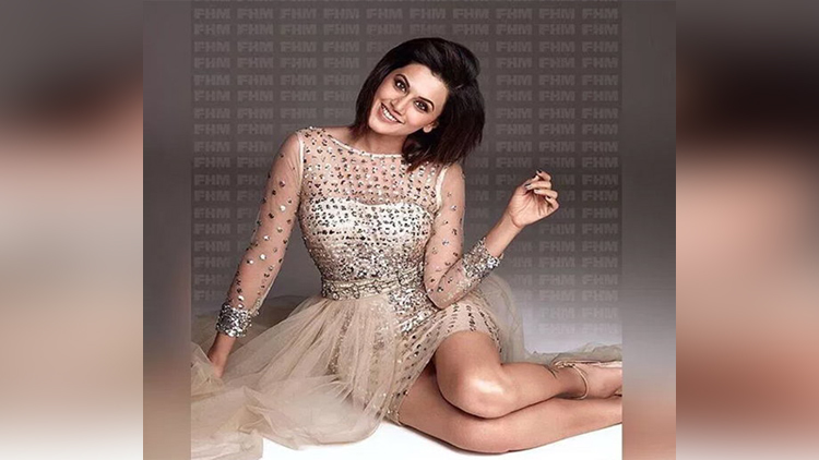 Taapsee Pannu Photoshoot For Fhm India magazine
