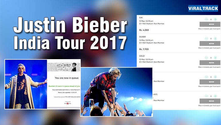 How Much Expensive Is Justin Bieber Concert's Tickets In Mumbai? Let's Check Out!