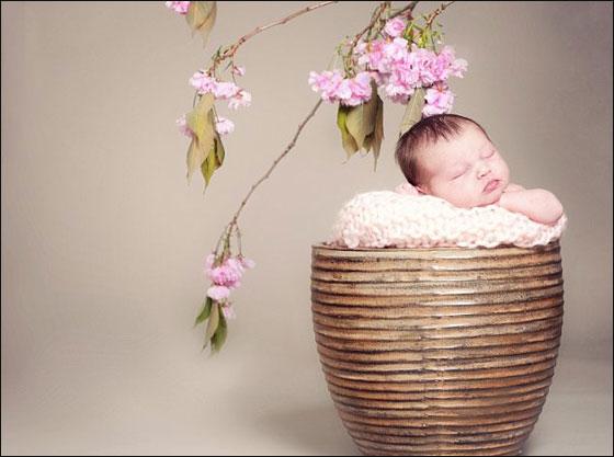 Beautiful photos of sleeping children