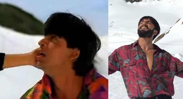 Ranveer Singhs version of Tu Mere Samne from Shah Rukhs movie darr