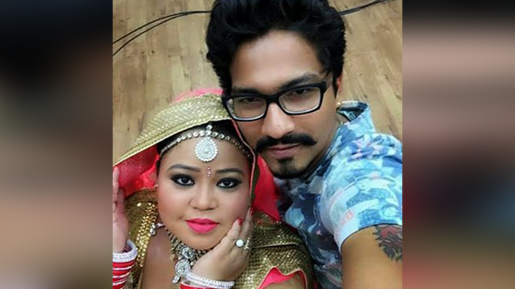 bharti singh engagement with comedy show writer harsh