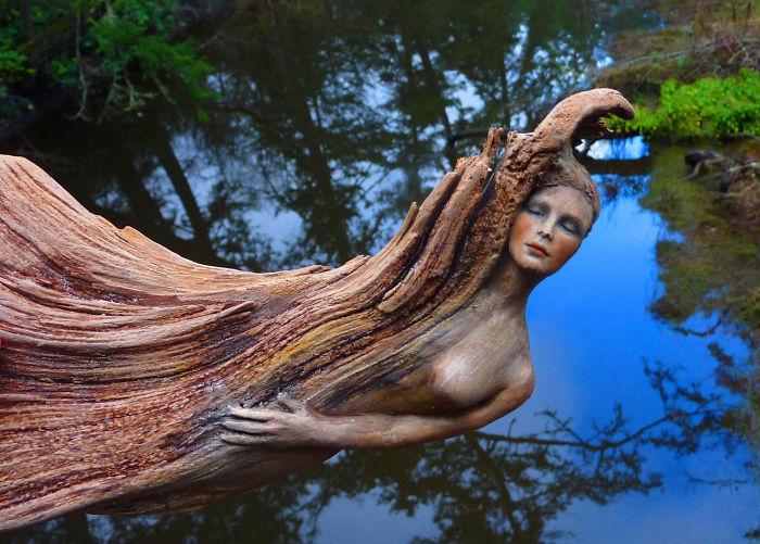 natural sculpture by debra bernier