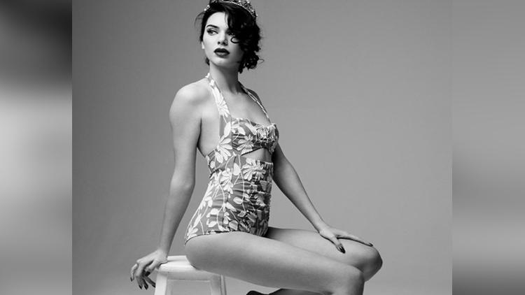 Kendall Jenner Marilyn Monroe inspired photo shoot