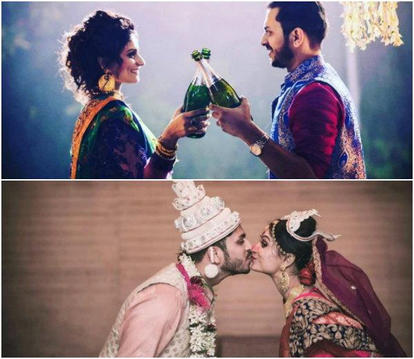 dimpi ganguly and rohit roy wedding photographes