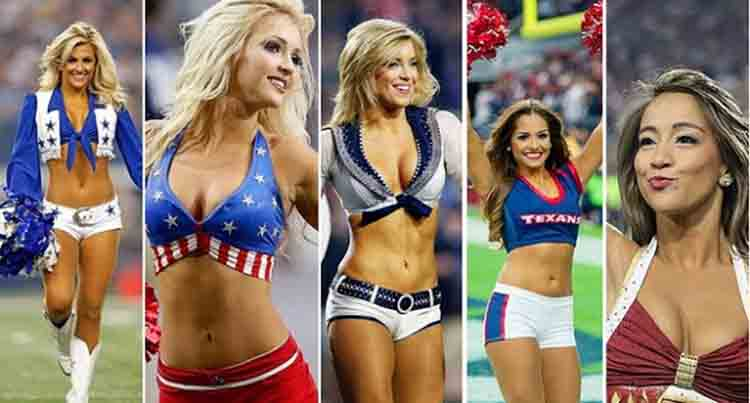 These are top 5 popular cheerleader