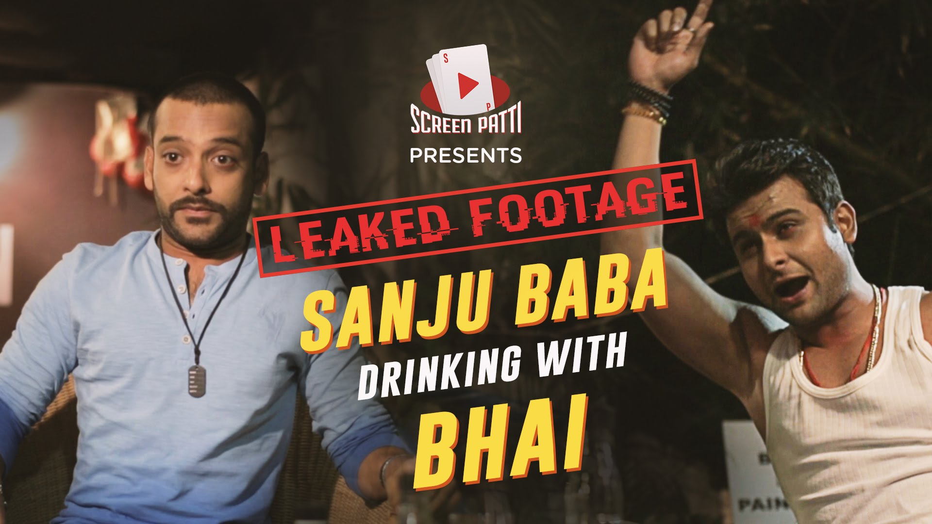 Leaked Footage Sanju Baba Drinking With salman Bhai After Release