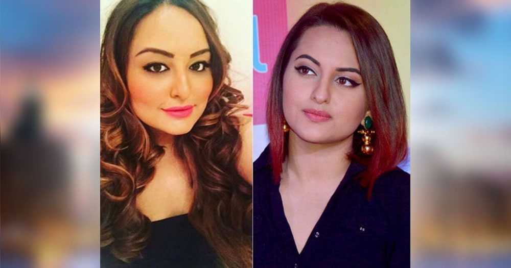 sahiba kohli look like bollywood actress sonakshi sinha