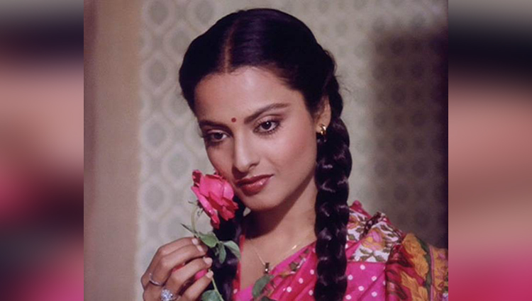 rekha beautiful pictures