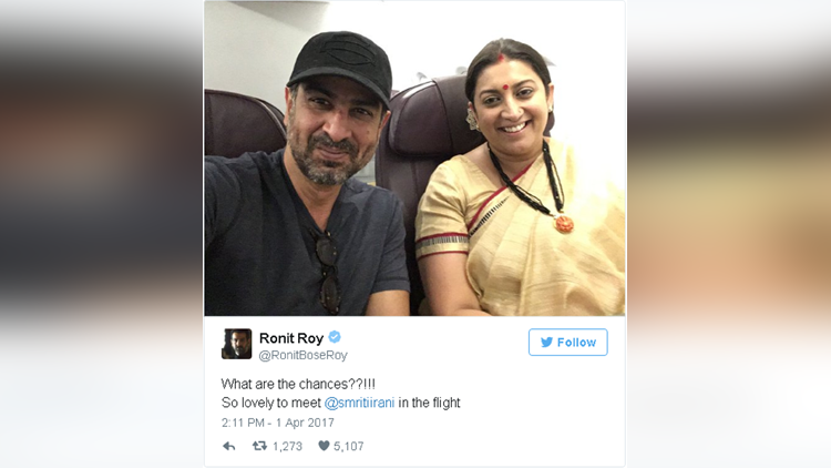 ronit roy and smriti irani